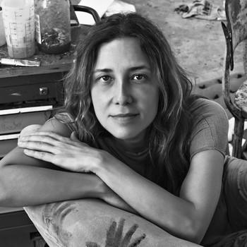 A portrait photograph of Adriana Varejão