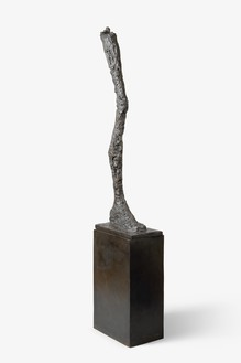 Alberto Giacometti, La Jambe, 1958 Bronze, 85 ⅞ × 11 ⅞ × 18 ⅜ inches (218 × 30 × 46.5 cm), edition 6/6© 2018 Alberto Giacometti Estate/Licensed by VAGA and ARS, New York