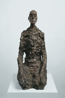 Alberto Giacometti, Buste d'homme assis (Lotar III), 1965 Bronze, 25 ¾ × 11 ⅛ × 14 inches (65.5 × 28.2 × 35.5 cm), edition EA I/II, cast: Fonte Susse (1968)© 2018 Alberto Giacometti Estate/Licensed by VAGA and ARS, New York