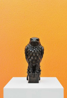 Alex Israel, Maltese Falcon, 2013 Cast bronze with black patina