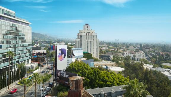 Alex Israel, Self-Portrait, 2013 Sunset Strip billboard, Los Angeles© Alex Israel