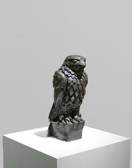 Alex Israel, Maltese Falcon, 2013 Cast bronze with black patina, 10 ½ × 4 ½ × 3 ½ inches (26.7 × 11.4 × 8.9 cm), edition of 20© Alex Israel