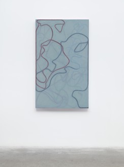 Brice Marden, Nevis Stele 4, 2007–15 Oil on linen, 60 × 36 inches (152.4 × 91.4 cm)© 2018 Brice Marden/Artists Rights Society (ARS), New York
