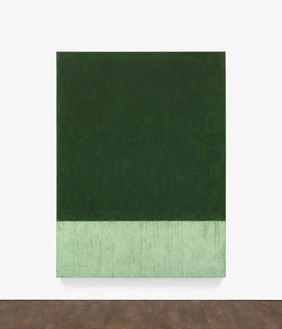 Brice Marden, Blockx, 2016–17 Oil on linen, 96 ⅛ × 72 inches (244 × 182.9 cm)© 2018 Brice Marden/Artists Rights Society (ARS), New York