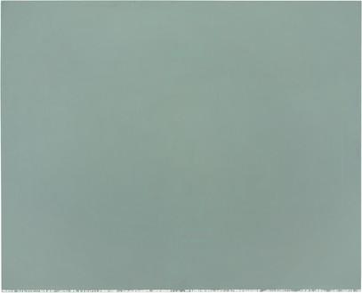 Brice Marden, Nebraska, 1966 Oil and wax on canvas, 58 × 72 inches (147.3 × 182.9 cm)© 2018 Brice Marden/Artists Rights Society (ARS), New York