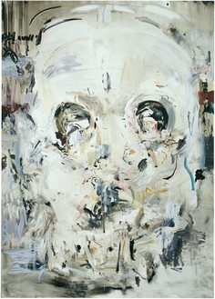 Cecily Brown, Untitled, 2005 Oil on linen, 77 × 55 inches (195.6 × 139.7 cm)© Cecily Brown