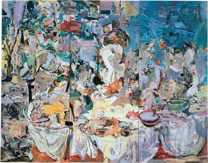 Cecily Brown, The Picnic, 2006 Oil on linen, 97 × 123 inches (246.4 × 312.4 cm)© Cecily Brown