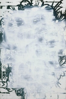 Christopher Wool, Untitled, 1994 Alkyd on aluminum, 52 × 35 inches (132.1 × 88.9 cm)