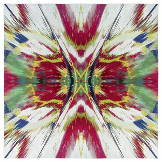 Damien Hirst, Revelation, 2016 Jacquard-woven tapestry made from wool, cotton, and silk, 98 ½ × 98 ½ inches (250 × 250 cm), edition of 20 + 4 AP© Damien Hirst and Science Ltd. All rights reserved, DACS 2018