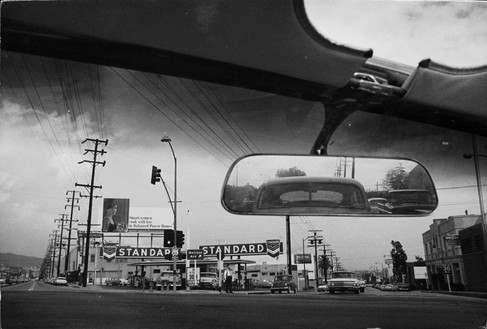 Dennis Hopper, Double Standard, 1961 Photograph, 16 × 24 inches (40.6 × 61 cm)