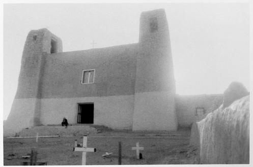 Dennis Hopper, Felicia, Marin, Ruins, c. 1971 Gelatin silver print, 3 ½ × 5 inches (8.9 × 12.7 cm)