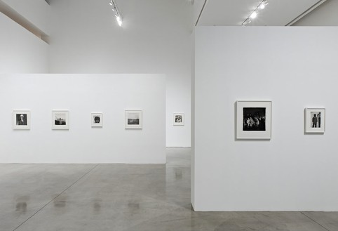 Installation view, Diane Arbus: People and Other Singularities, Gagosian, Beverly Hills, 2011 Photo: © Douglas M. Parker Studio