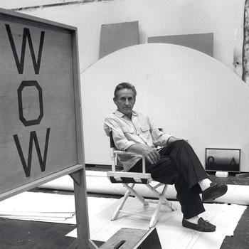 A portrait photograph of Ed Ruscha