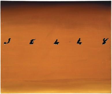 Ed Ruscha, Jelly, 1967 Oil on canvas, 20 × 23 ⅞ inches (50.8 × 60.6 cm)© Ed Ruscha