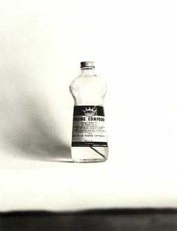 Ed Ruscha, Rubbing Compound, 1961–2003 Gelatin silver print, 13 × 10 inches (33 × 25.4 cm), edition of 8© Ed Ruscha