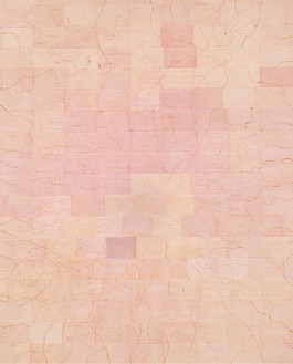 Ellen Gallagher, They could still serve, 2001 Pigment, paper, and glue on linen, 120 × 96 inches (304.8 × 243.8 cm)