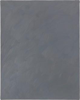 Gerhard Richter, Grau (Grey), 1970 Oil on canvas, 39 ⅜ × 31 ½ inches (100 × 80 cm)© Gerhard Richter