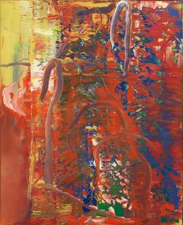 Gerhard Richter, Abstraktes Bild (Abstract Painting), 1986 Oil on canvas, 31 ⅜ × 26 ⅜ inches (82 × 67 cm)© Gerhard Richter