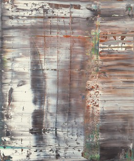 Gerhard Richter, Abstraktes Bild (Abstract Painting), 1990 Oil on canvas, 48 ⅛ × 40 ¼ inches (122 × 102 cm)© Gerhard Richter