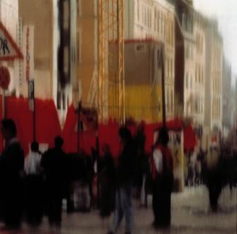 Gerhard Richter, Demo, 1997 Oil on canvas, 24 ⅛ × 24 ⅛ inches (62 × 62 cm)© Gerhard Richter