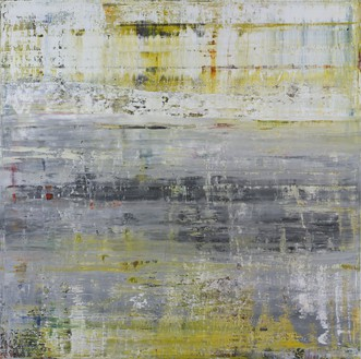 Gerhard Richter, Cage 2, 2006 Oil on canvas, 118 ⅛ × 118 ⅛ inches (300 × 300 cm)© Gerhard Richter