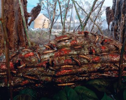 Gregory Crewdson, Untitled, 1992–97 Chromogenic print, image: 28 × 36 inches (71.1 × 91.4 cm), framed: 35 ⅛ × 43 inches (89.2 × 109.2 cm)© Gregory Crewdson