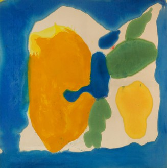 Helen Frankenthaler, Provincetown Window, 1963–64 Acrylic on canvas, 82 ⅜ × 81 ⅞ inches (209.2 × 208 cm)© 2018 Helen Frankenthaler Foundation, Inc./Artists Rights Society (ARS), New York