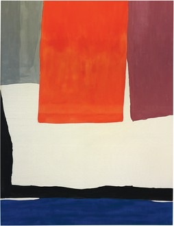 Helen Frankenthaler, The Human Edge, 1967 Acrylic on canvas, 124 × 93 ¼ inches (315 × 236.9 cm), Everson Museum of Art, Syracuse, New York© 2018 Helen Frankenthaler Foundation, Inc./Artists Rights Society (ARS), New York. Photo: courtesy Everson Museum of Art