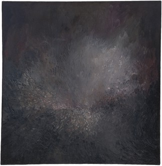 Jay DeFeo, Song of Innocence, 1957 Oil on canvas, 40 × 40 inches (101.6 × 101.6 cm)© 2020 The Jay DeFeo Foundation/Artists Rights Society (ARS), New York