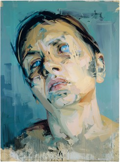 Jenny Saville, Rosetta II, 2005–06 Oil on watercolor paper mounted on board, 99 ¼ × 73 ¾ inches (252 × 187.5 cm)© Jenny Saville