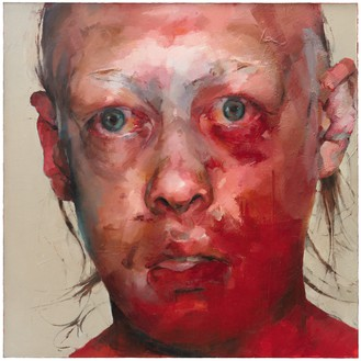 Jenny Saville, Figure 11.26, 1996–97 Oil on canvas, 60 × 60 inches (152.5 × 152.5 cm)© Jenny Saville
