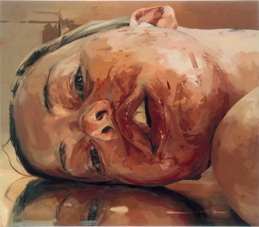 Jenny Saville, Reverse, 2002–03 Oil on canvas, 84 × 96 inches (213.4 × 243.8 cm)© Jenny Saville
