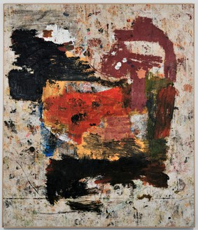 Joe Bradley, Mash Potato, 2011 Mixed media on canvas, 90 × 77 inches, (228.6 × 195.6 cm)© Joe Bradley