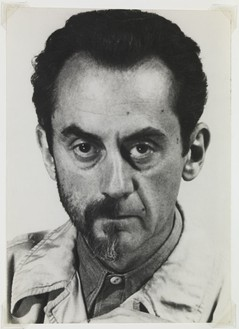 Man Ray, Self-Portrait with Half Beard, 1943 Vintage silver print, 7 ⅛ × 5 ⅛ inches (18.1 × 13 cm)© Man Ray Trust / ADAGP 2018