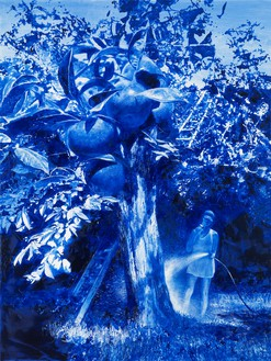 Mark Tansey, Garden, 2006 Oil on canvas, 48 × 36 inches (121.9 × 91.4 cm)© Mark Tansey. Photo: Rob McKeever