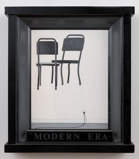 Neil Jenney, The Modern Era, 1971–72 Oil on wood, in artist's frame, 35 ¾ × 30 ⅞ × 5 ¾ inches (90.8 × 78.4 × 14.6 cm)© Neil Jenney