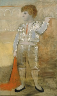 Pablo Picasso, Portrait de Paul en torero, 1925 Oil on canvas, 63 ¾ × 38 ¼ inches (162 × 97 cm)© 2018 Estate of Pablo Picasso/Artist Rights Society (ARS), New York