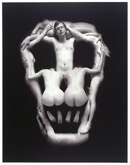 Piotr Uklański, Untitled (Skull), 2000 Platinum print, 14 × 11 inches (35.6 × 27.9 cm)