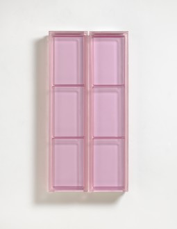 Rachel Whiteread, Untitled, 2013 Resin, in 2 parts, overall: 38 ⅝ × 18 ⅞ × 3 inches (98 × 48 × 7.5 cm)© Rachel Whiteread. Photo: Mike Bruce