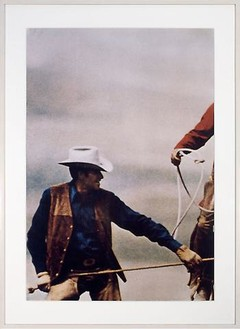 Richard Prince, Untitled (Cowboys), 1992 Ektacolor photograph, 40 × 27 ¾ inches (101.6 × 70.5 cm), edition of 2