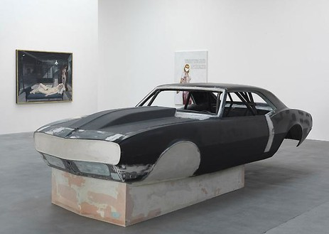 Richard Prince Elvis, 2007 Steel, plywood and bondo 63 × 76 × 182 inches (160 × 193 × 462.3 cm) Installation at Gagosian Gallery Britannia Street, London