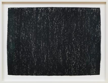 Richard Serra, Ramble 3-6, 2015 Litho crayon on paper, 22 × 30 inches (55.9 × 76.2 cm)© 2018 Richard Serra/Artists Rights Society (ARS), New York. Photo: Rob McKeever