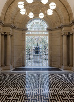 RICHARD WRIGHT No title, 2013 Handmade glass Permanent installation at Tate Britain, London