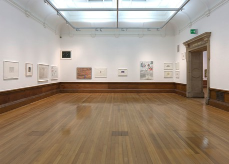 Installation view, Richard Wright: Works on Paper, part of Glasgow International Festival of Visual Art, Kelvingrove Art Gallery and Museum, Glasgow, 2012 Artwork © Richard Wright. Photo: Ruth Clark