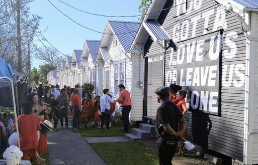 Rick Lowe, Project Row Houses, Houston, 1993–2018 Social sculpture conceived in collaboration with James Bettison, Bert Long, Jr., Jesse Lott, Floyd Newsum, Bert Samples, and George Smith