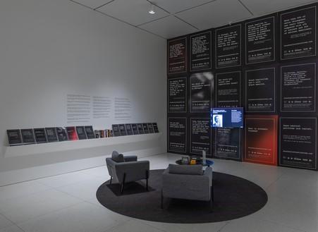 Rick Lowe, Black Wall Street Journey, Chicago, 2018– Social sculptureInstallation view, Smart Museum of Art, University of Chicago, 2021© Rick Lowe Studio. Photo: Michael Tropea