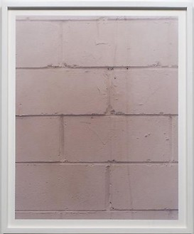 Roe Ethridge, Studio Wall, 2005 Chromogenic print, 31 × 25 inches framed (78.7 × 63.5cm framed), edition of 5