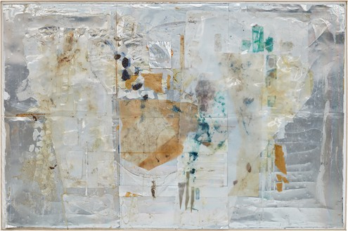 Rudolf Polanszky, Reconstructions, 2005 Acrylic glass, plastic, polyurethane foam, and silicone on canvas, in artist's frame, 63 × 94 ⅛ inches (160 × 239 cm)© Rudolf Polanszky
