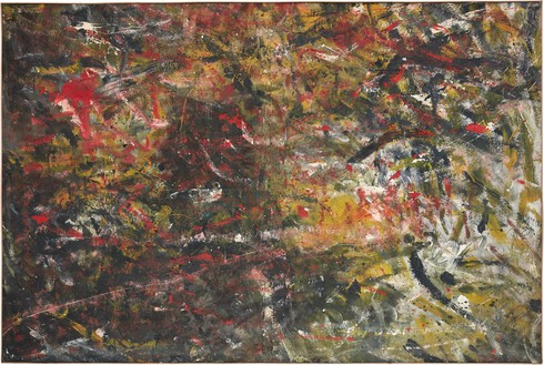 Rudolf Polanszky, Coil Spring Painting, 1985 Acrylic on canvas, in artist's frame, 78 ¾ × 118 ⅛ inches (200 × 300 cm)© Rudolf Polanszky