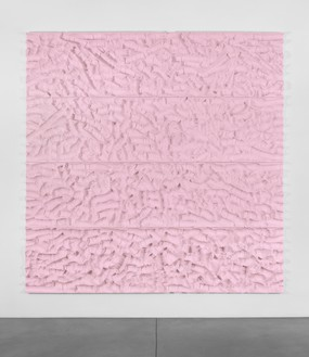 Rudolf Stingel, Untitled, 1999 Styrofoam, 94 ¼ × 96 ⅛ inches (239.4 × 244 cm)© Rudolf Stingel